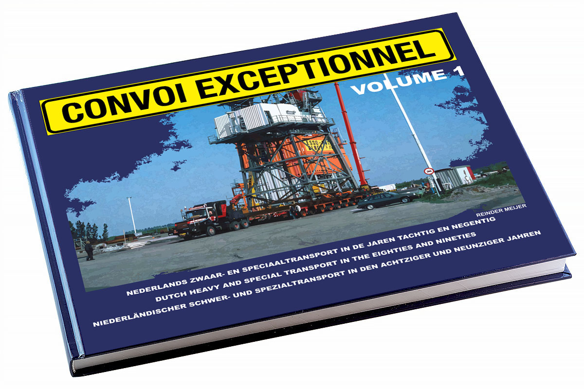 Convoi exceptionnel, volume 1, cover front